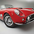 Factory certified short wheelbase <b>California</b> Spyder latest star attraction for Rm's Monterey Auction