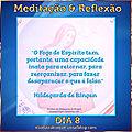 DIA 8 - 17 DIAS DE MEDITAÇÃO & REFLEXÃO COM SANTA HILDEGARDA DE BINGEN