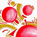 carte postale 12 festivités