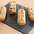 4 cakes : mures, pistache , chocolat et vanille