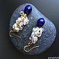 PandaHall collection des boucles d'oreilles