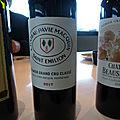 Bordeaux Primeurs 2017 : L'appellation Saint Emilion (hors UGC) : Premiers <b>Grands</b> <b>Crus</b> Classés et <b>Grands</b> <b>Crus</b>
