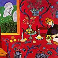 Matisse, la desserte rouge, suite