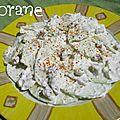 Salade de pommes à la libanaise