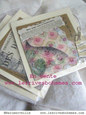 Marimerveille Carte Collection Fil & kraft