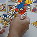 Vincent beckers commente un tirage du tarot