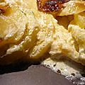 Gratin de pomme de terre, courgettes et beaufort