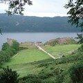 Loch Ness, château de Urquhart