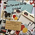 Kit - fun and scrap créaisa nov. 2017