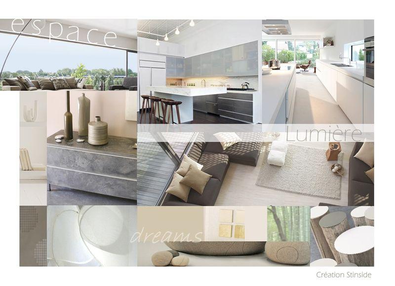Coaching am nagement espace salon cuisine stinside architecture d 39 int rieur - Salon amenagement interieur ...