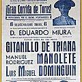 2017 - HOMMAGE AU GRAND <b>MANOLETE</b> - 4 juillet 1917 - 29 août 1947