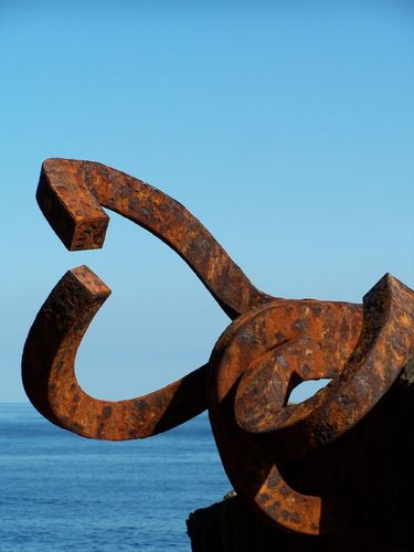Donostia-Peine del Viento zoomé
