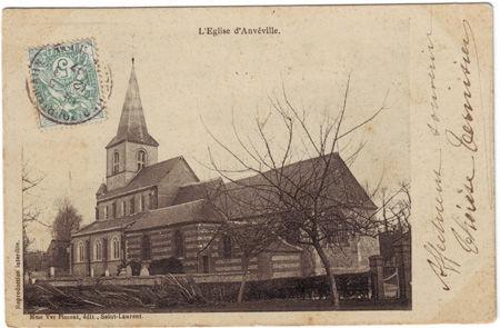 76 - ANVEVILLE - L'église