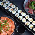 <b>Sushi</b> et sashimi