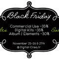 Freebie and essential template (& black friday sale)