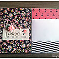 Mini album sans fin by stampin'up