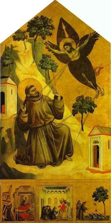 La Stigmatisation de Saint François