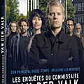 Concours LES ENQUÊTES DU COMMISSAIRE VAN DER VALK : 3 <b>DVD</b> de la saison 1 à gagner !