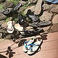 Se déchausser avant d'entrer : la collection de tongs