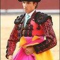 Le matador de toros madrilène matías tejela
