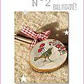 L'oiseau N°2 Noël au bois ©Marimerveille