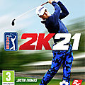 Test de <b>PGA</b> Tour 2k21 - Jeu Video Giga France