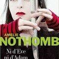 Lettre n : amélie nothomb - ni d'ève ni d'adam