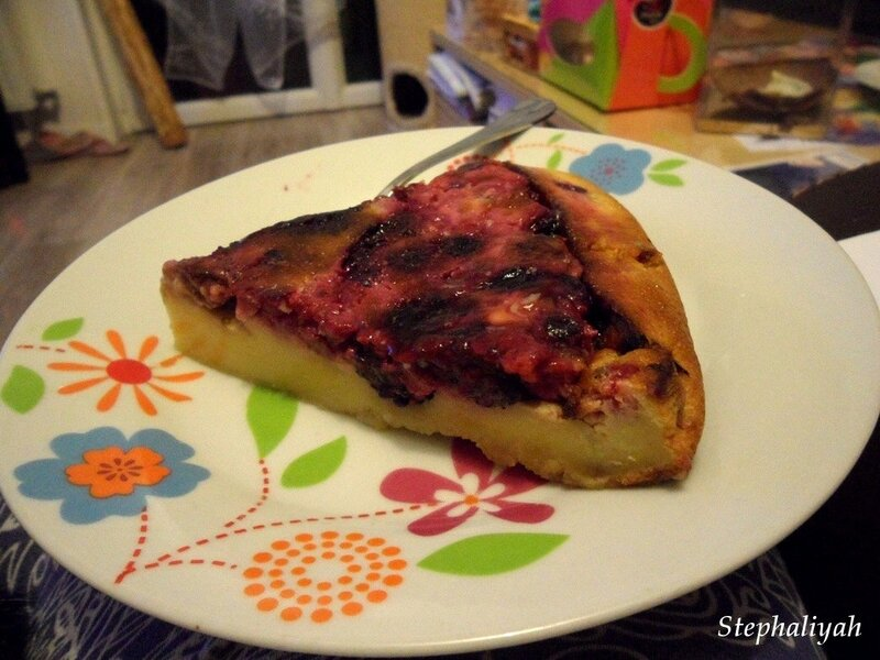 Clafoutis aux fruits rouges - 3