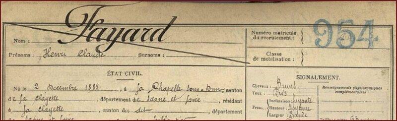 FAYARD Henri Claude