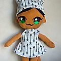 Bat & cat <b>girl</b> doll plush sew desk ne ?