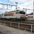 BB 7264 quittant Bordeaux pour Marseille