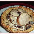 Tartelettes au boudin blanc truffé et aux champignons des bois