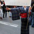 Manif anti-nucléaire en soutien au japon