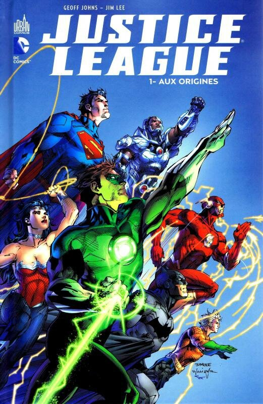 justice league 01 aux origines