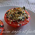 Tomates au four à la provençale