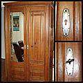 armoire avant restauration