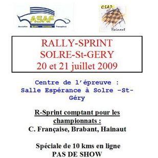 RS de Solre-St-Gery 2009 2