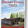 <b>Pension</b> pour chien - le puy du fou