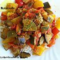 Un plat ensoleillé : la ratatouille