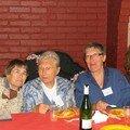 La doyenne de la fête Lison MILLOT maman de Thérèse BABILLOT