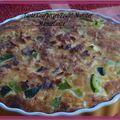 Tarte courgettes-poulet-munster