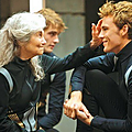 Mags and Finnick Catching Fire
