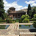 Andalousie, mon voyage a Grenade et la visite des jardins de <b>L</b>'<b>Alhambra</b> !