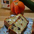 Cake courgettes, tomates séchées, feta, olive et basilic