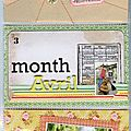 Month Avril