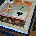 Quilt country bunny love (suite 1)