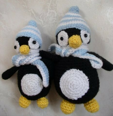 tricots pingouin