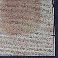 Appel à mécénat pour l'<b>acquisition</b> de manuscrits par la BNF