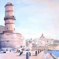 Marseille, le Fort St Jean