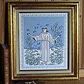 Saint françois au point d'assise